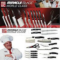Набор ножей Miracle Blade World Class (Мирэкл Блэйд) 12 шт плюс кухонные ножницы, фото 1