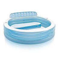 "Надувной бассейн Intex 57190 ""Семейный круг"", бассейн интекс, детский бассейн, бассейн для дачи"