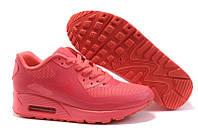Кроссовки женские Nike Air Max 90 Hyperfuse (найк аир макс, nike air 90, гиперфьюз, оригинал) коралловые