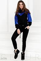 Теплый костюм с мехом Gepur Impression 24796