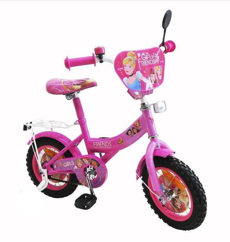 """Двухколесный детский велосипед 182002 20"""" со звонком, зеркалом"""