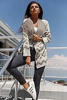 Кардиган с принтом Gepur Autumn outerwear 28010