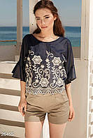 Короткие льняные шорты Gepur Summer in the city 26455