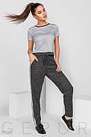 Теплые брюки из трикотажа Gepur The new edit 29680