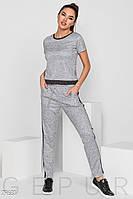 Трендовые трикотажные брюки Gepur The new edit 29681