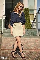 Офисная юбка с декором Gepur Office outfits summer 27039