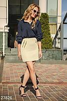 Офисная юбка с декором Gepur Office outfits summer 27826