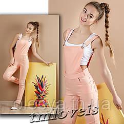 Комбинезон Loveis персик для девочек Размеры 140- 170
