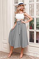 Расклешенная юбка-миди Gepur Spring mood 30747
