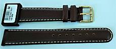 18 мм Кожаный Ремешок для часов CONDOR 147.18.02 Коричневый Ремешок на часы из Натуральной кожи, фото 3