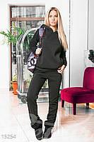 Спортивный костюм с кружевом Gepur Dress code 15254