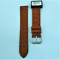 18 мм Кожаный Ремешок для часов CONDOR 119.18.03 Коричневый Ремешок на часы из Натуральной кожи, фото 2