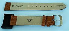 18 мм Кожаный Ремешок для часов CONDOR 119.18.03 Коричневый Ремешок на часы из Натуральной кожи, фото 3