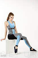 Комбинированный костюм фитнес Gepur Sport chic 25955