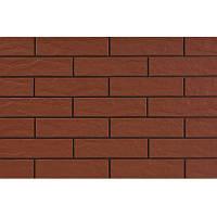 Плитка для фасада Burgund rustykalna 9577 Strukturalna 245 x 65 x 6,5