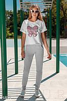 Летний трикотажный костюм Gepur Get active 26805
