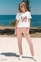 Летний трикотажный костюм Gepur Get active 26806