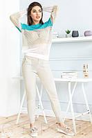 Комфортный вязаный костюм Gepur Comfort 30100