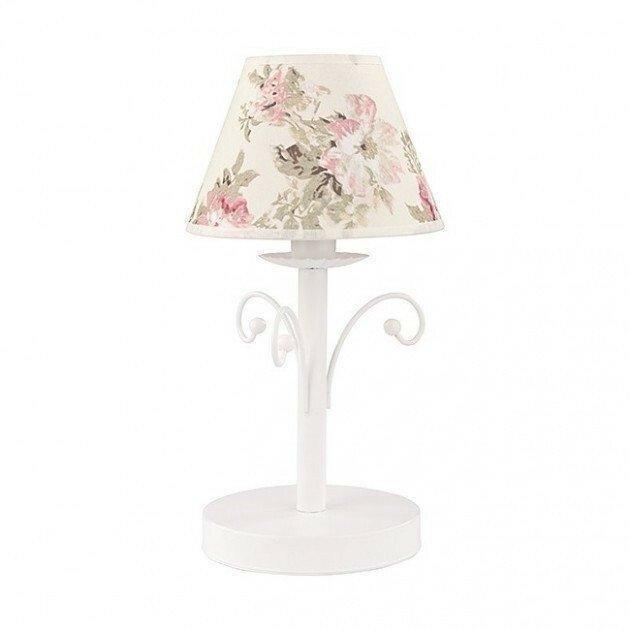 Настольная лампа TK Lighting 372 ROSA WHITE