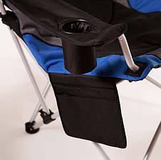 """Кресло """"Директор"""" d19 мм (синий), фото 3"""