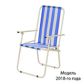 """Стул """"Дачный"""" d18 мм (желто-голубая полоса), фото 2"""
