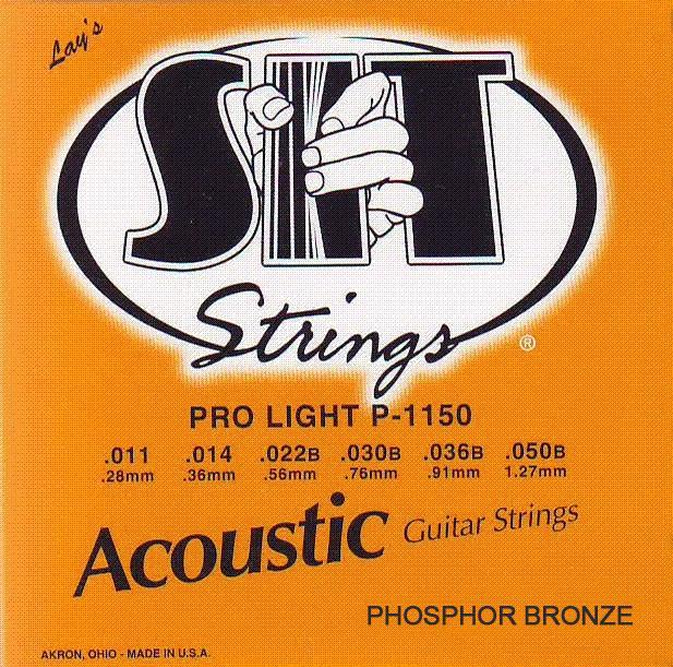 Струни для акустичної гітари S. I. T. P1150