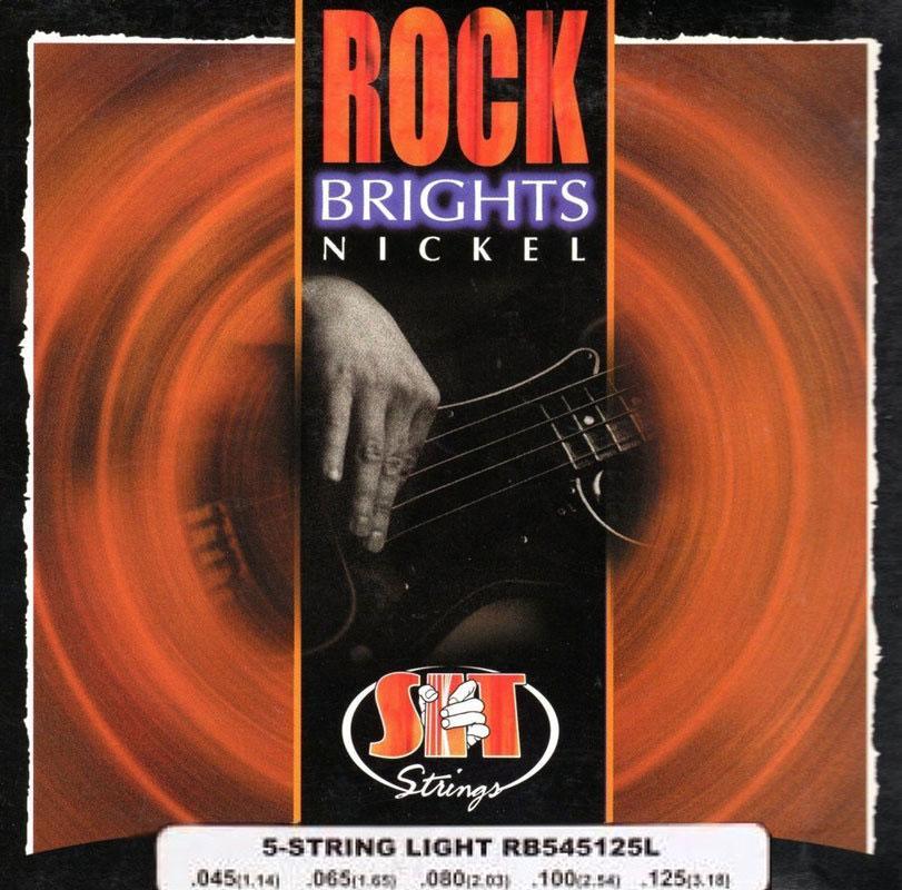 Струны для бас гитары S.I.T. RB545125L