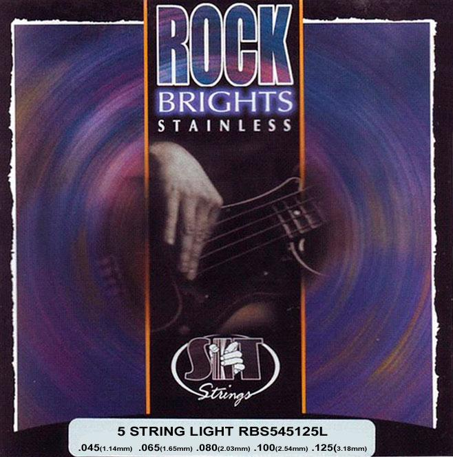 Струны для бас гитары S.I.T. RBS545125L