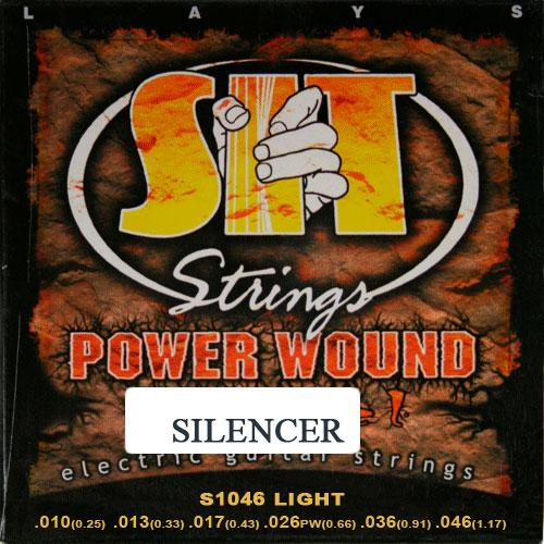 Струны для электрогитары S.I.T. SL1046
