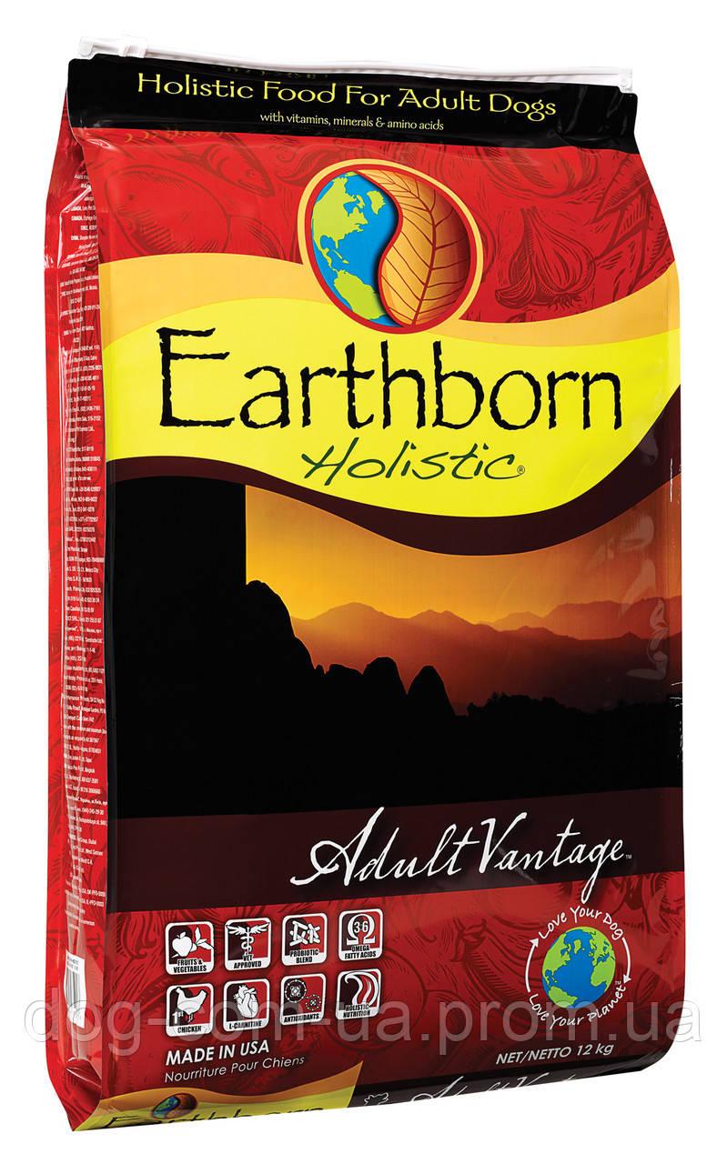 Сухой корм Earthborn Holistic (Ерс Борн) Dog Adult Vantage для взрослых собак с нормальной активностью (курица и белая рыба) (Вес: 2,5 кг + лакомство)