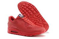 Кроссовки женские Nike Air Max 90 Hyperfuse (найк аир макс, nike air 90, гиперфьюз, оригинал) красные