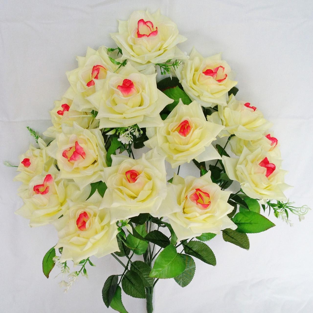 Букет роза остролистная  64см (10 шт в уп)