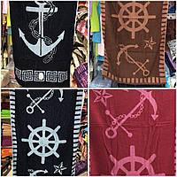 """Пляжные махровые полотенца """"Якорь"""", фото 1"""