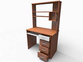 Компьютерный прямой стол Флеш-Ника Микс 21 с надстройкой, фото 3