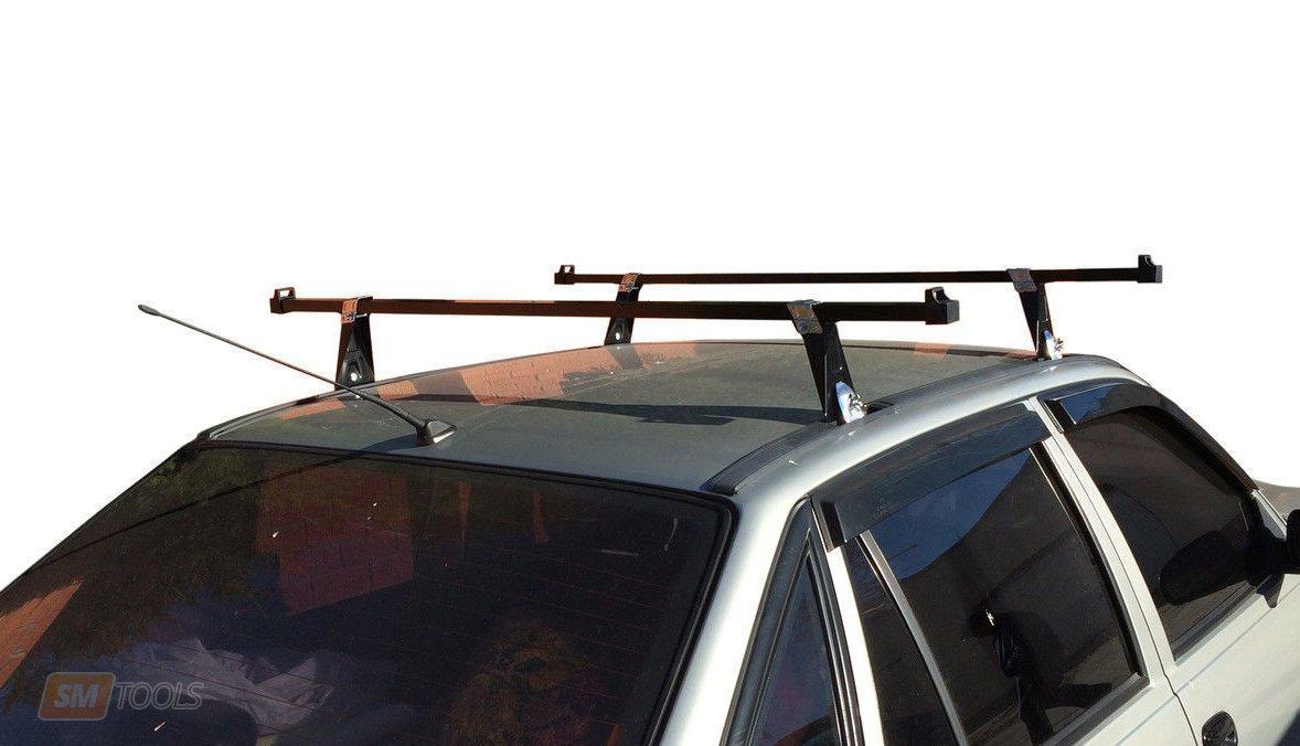 Багажник на крышу авто Кенгуру Уни 140см - универсальный, для авто с водостоком или спецкреплением