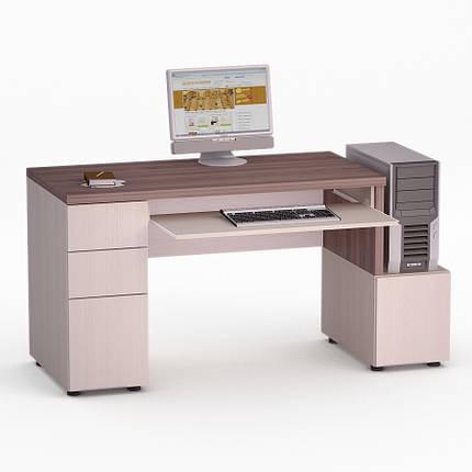 Компьютерный прямой стол Флеш-Ника Мокос 10 (стандарт), фото 2