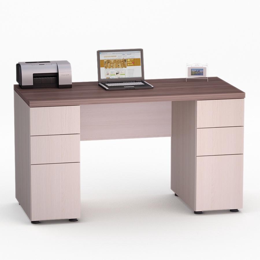 Компьютерный прямой стол Флеш-Ника Мокос 11 (стандарт)