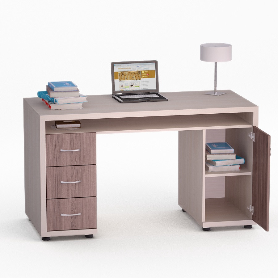 Компьютерный прямой стол Флеш-Ника Мокос 17 (стандарт)