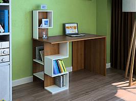 Комп'ютерний прямий стіл Флеш-Ніка LEGA - 33 (стандарт) з надбудовою