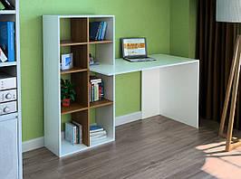 Комп'ютерний прямий стіл Флеш-Ніка LEGA - 37 (стандарт) з надбудовою