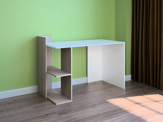 Компьютерный прямой стол Флеш-Ника LEGA - 44 (стандарт), фото 2