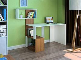 Комп'ютерний прямий стіл Флеш-Ніка LEGA - 54 (стандарт) з надбудовою