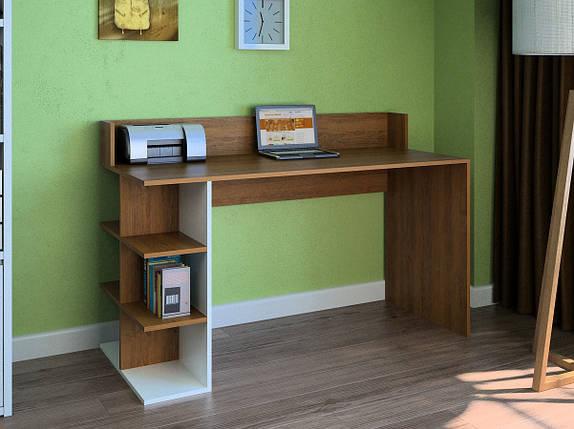 Компьютерный прямой стол Флеш-Ника LEGA - 6 Дуб Лимберг Коимбра, фото 2