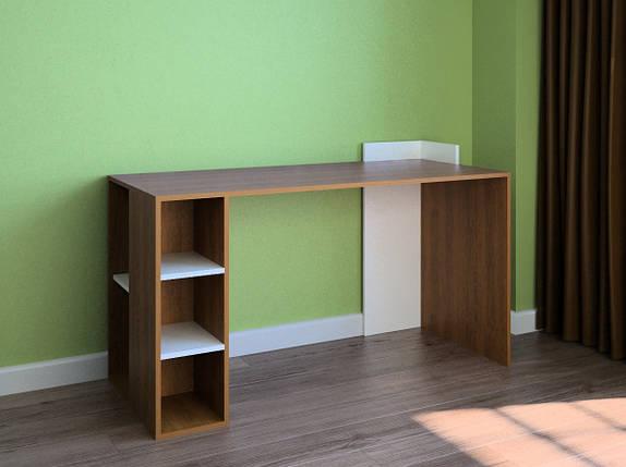 Компьютерный прямой стол Флеш-Ника LEGA - 7 Дуб Лимберг Коимбра, фото 2