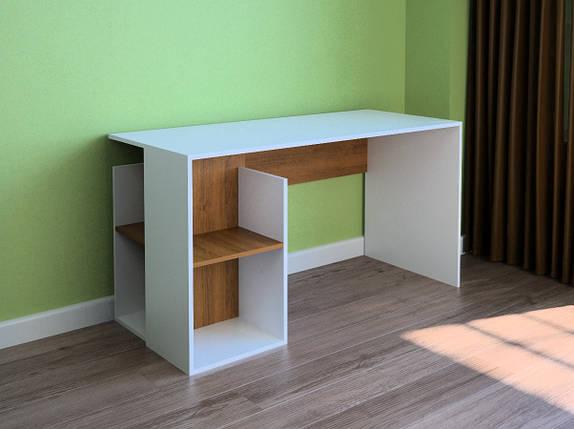 Компьютерный прямой стол Флеш-Ника LEGA - 30 Дуб Лимберг Коимбра, фото 2