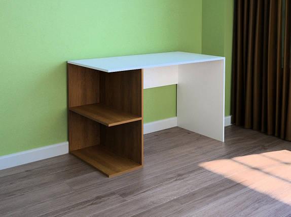 Компьютерный прямой стол Флеш-Ника LEGA - 41 Дуб Лимберг Коимбра, фото 2