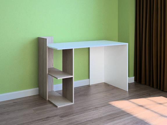 Компьютерный прямой стол Флеш-Ника LEGA - 44 Дуб Лимберг Коимбра, фото 2