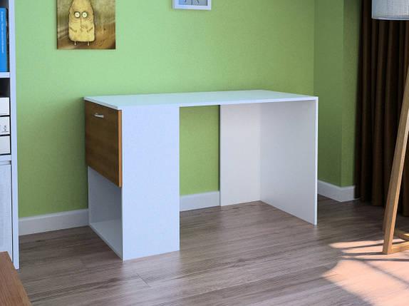 Компьютерный прямой стол Флеш-Ника LEGA - 56 Дуб Лимберг Коимбра, фото 2