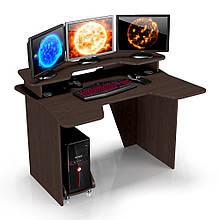 Геймерский игровой компьютерный прямой стол ZEUS™ / ЗЕУС™ IGROK / ИГРОК 2