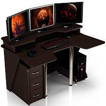 Геймерский игровой компьютерный прямой стол ZEUS™ / ЗЕУС™ IGROK / ИГРОК 4